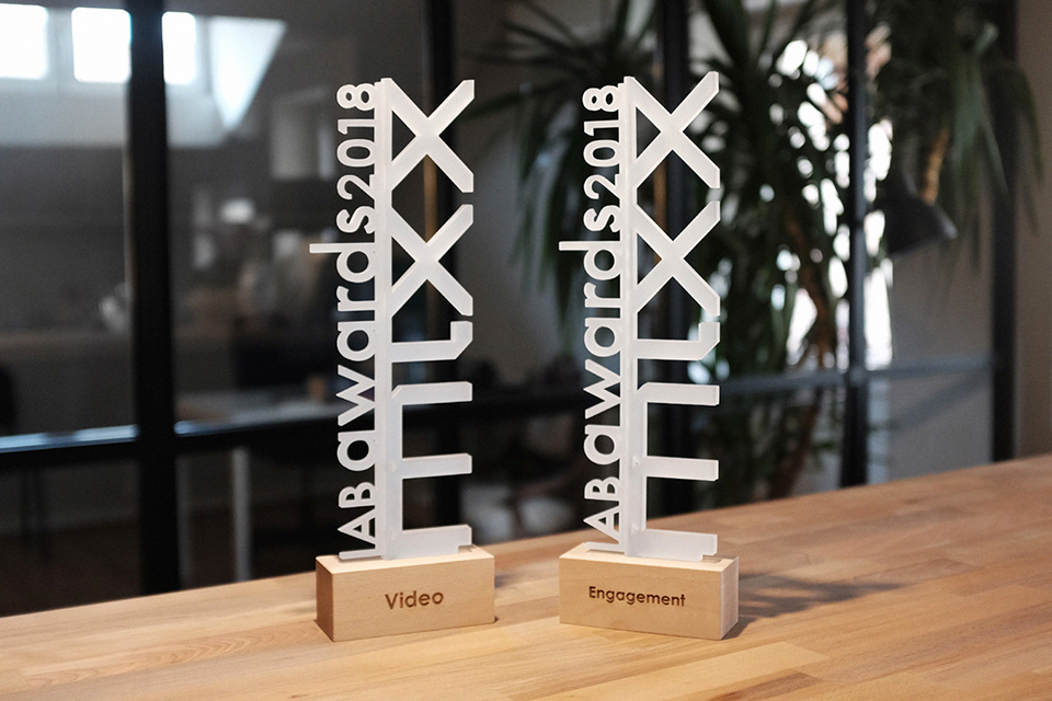 Two gold awards and one bronze from the 2018 IAB MIXX Awards 🥇